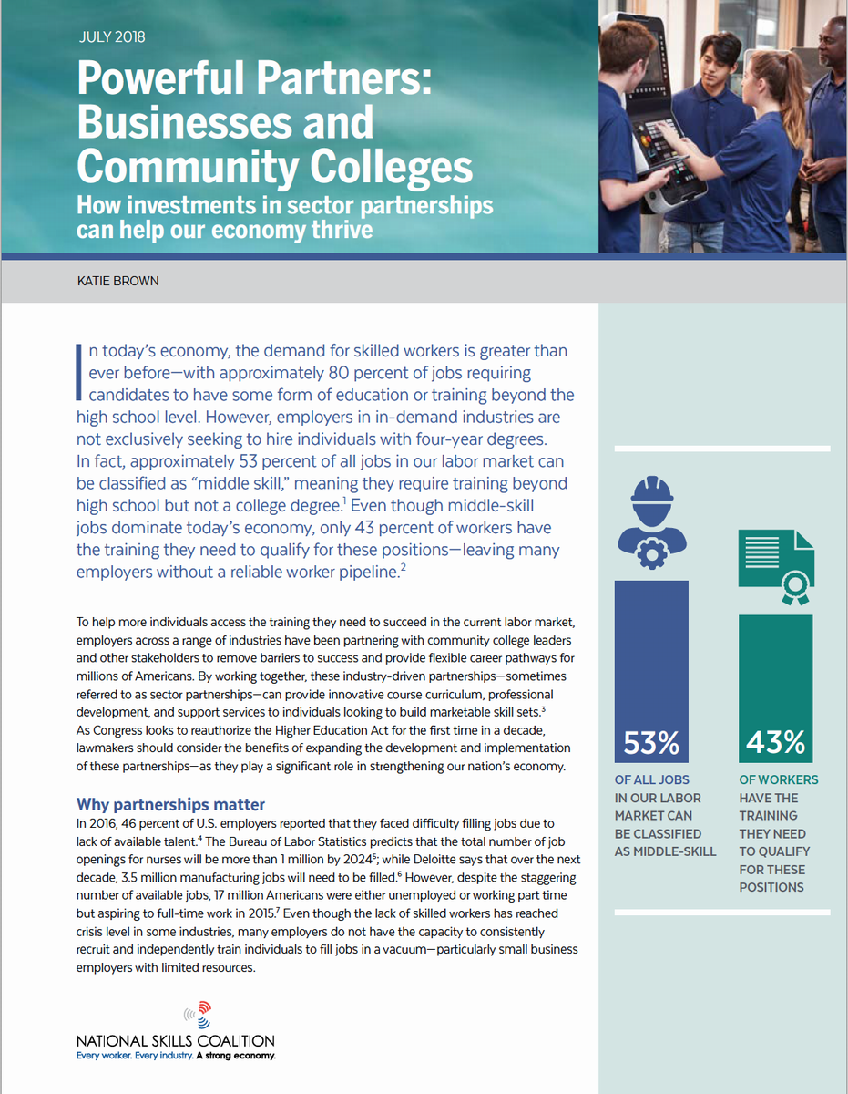 Click for full white paper on Business and Community Colleges.